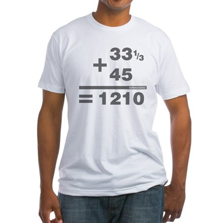DJ Maths Fitted T-Shirt