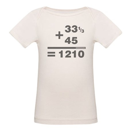 DJ Maths Organic Baby T-Shirt