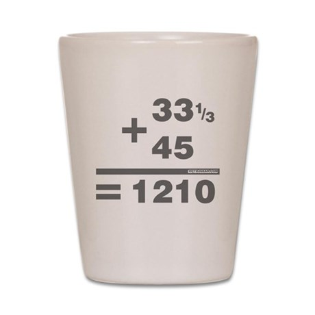 DJ Maths Shot Glass