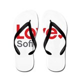 Love Sofia Flip Flops