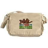 Belly Rub Messenger Bag