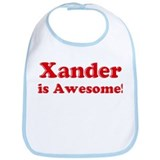 Xander is Awesome Bib