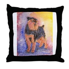 Rosie a Brussels Griffon Throw Pillow