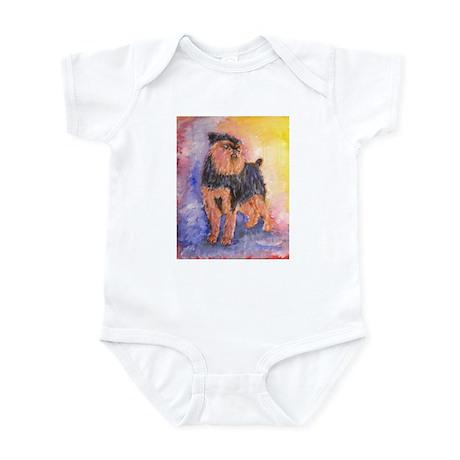 Rosie a Brussels Griffon Infant Bodysuit