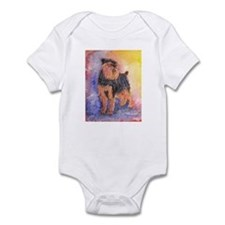Rosie a Brussels Griffon Infant Bodysuit