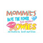 Just One Kiss 35x21 Wall Decal