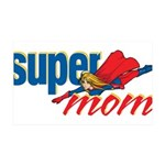SuperMom 35x21 Wall Decal