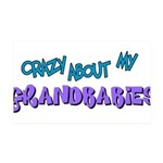 crazy about grandbabies.png 35x21 Wall Decal