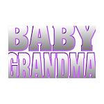 Baby Grandma 35x21 Wall Decal
