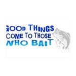 goodthingswhite.png 35x21 Wall Decal