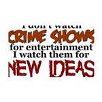 Crime Shows 35x21 Wall Decal