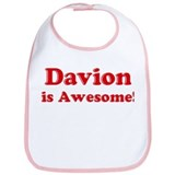 Davion is Awesome Bib