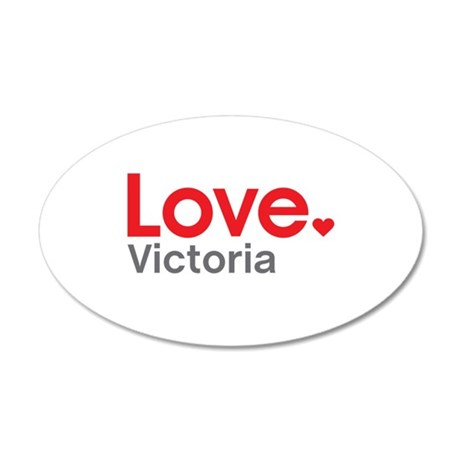 Love Victoria Wall Decal