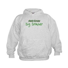 Big Brother Green Letters Hoodie
