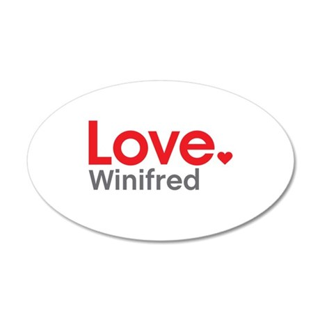 Love Winifred Wall Decal