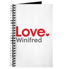 Love Winifred Journal