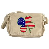 Irish American Messenger Bag