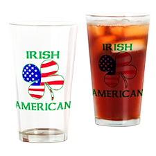 Irish American Drinking Glass