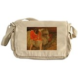 Famous Paintings: After the Rehersal Messenger Bag