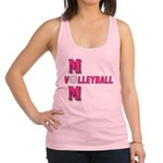 VOLLEYBALL MOM Racerback Tank Top