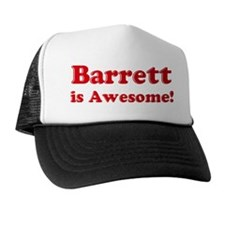 Barrett is Awesome Trucker Hat