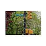 Central Park street sign Rectangle Magnet