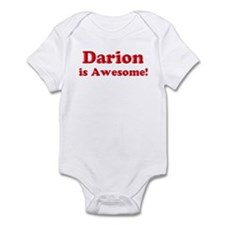 Darion is Awesome Infant Bodysuit
