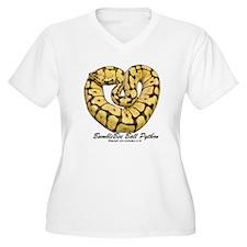 Bumblebee Ball Python Plus Size T-Shirt