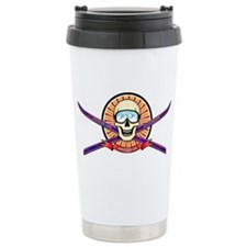 Ski Utah Ceramic Travel Mug