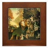 Peaceable Kingdom Framed Tile
