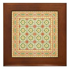 Spanish Framed Tile