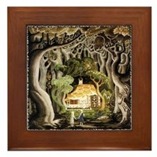 Hansel & Gretel Framed Tile