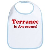 Terrance is Awesome Bib
