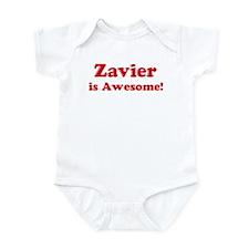 Zavier is Awesome Infant Bodysuit