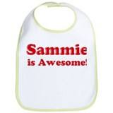 Sammie is Awesome Bib