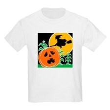 Jack-o-Lantern Spook Kids T-Shirt