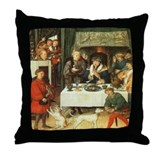 German Nobility Throw Pillow