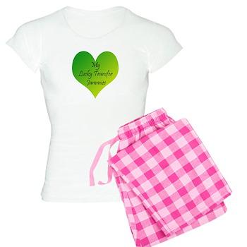 Women's Light Pajamas Lucky Transfer Jammies Surro