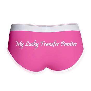 Women's Boy Brief Surrogate Lucky Transfer Panties
