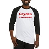 Cayden is Awesome Baseball Jersey