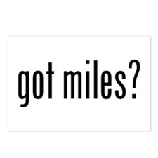 got miles? Postcards (Package of 8)