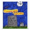 "Graveyard Shifts Square Car Magnet 3"" x 3"""