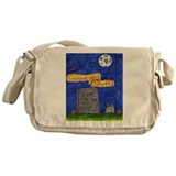 Graveyard Shifts Messenger Bag