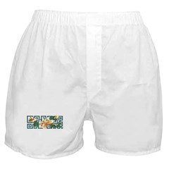 Asian Blossom Boxer Shorts