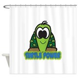 turtle power.png Shower Curtain