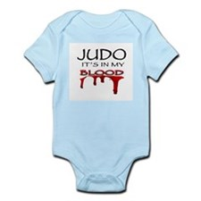 Judo It's in my blood Infant Bodysuit