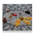 Imagine Strawberry Fields NYC Tile Coaster