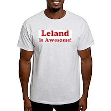 Leland is Awesome Ash Grey T-Shirt