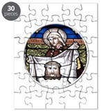 St. Veronica Stained Glass Window Puzzle