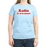 Kadin is Awesome Women's Pink T-Shirt